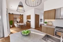 Dream House Plan - Contemporary Interior - Dining Room Plan #48-1023