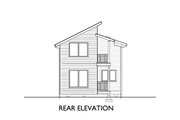 Modern Style House Plan - 3 Beds 1.5 Baths 1248 Sq/Ft Plan #890-5 Exterior - Other Elevation