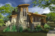 Contemporary Style House Plan - 2 Beds 2 Baths 985 Sq/Ft Plan #120-190