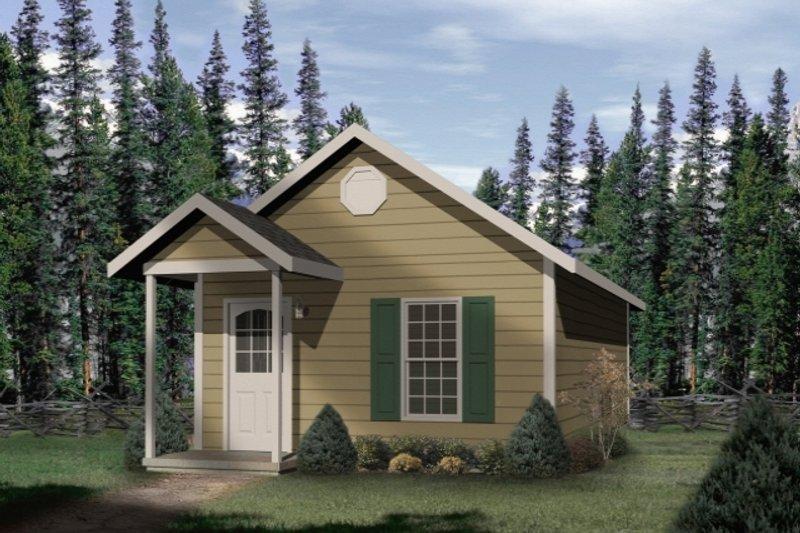 House Plan Design - Cottage Exterior - Front Elevation Plan #22-126