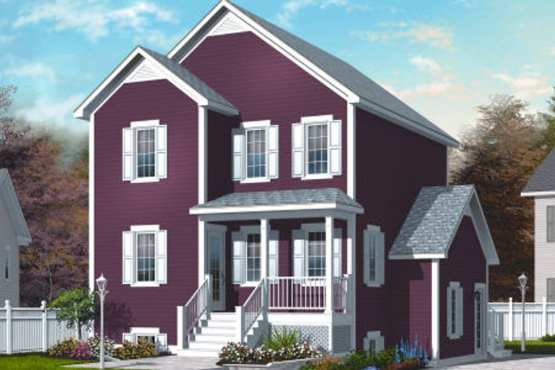 Country Exterior - Front Elevation Plan #23-2179 - Houseplans.com
