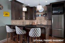 Optional Basement Kitchen