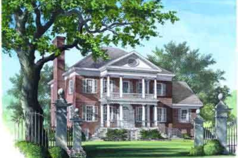 Architectural House Design - Classical Photo Plan #137-157