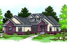 Modern Exterior - Front Elevation Plan #70-459