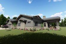 Dream House Plan - Right Rear
