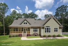 Dream House Plan - Farmhouse Exterior - Rear Elevation Plan #929-1044