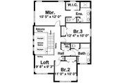 Contemporary Style House Plan - 3 Beds 2 Baths 1958 Sq/Ft Plan #126-226 Floor Plan - Upper Floor