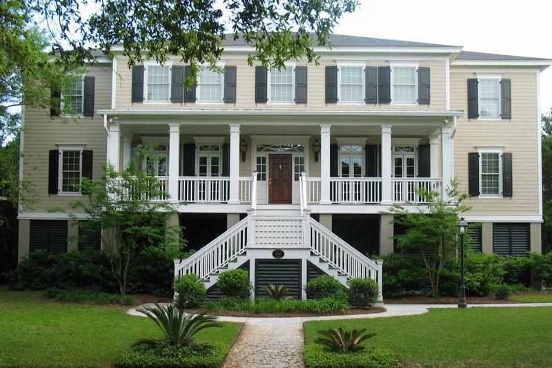 Dream House Plan - Beach Exterior - Front Elevation Plan #1054-84