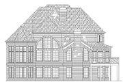 European Style House Plan - 4 Beds 4 Baths 3256 Sq/Ft Plan #119-297 Exterior - Rear Elevation