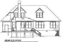 Traditional Exterior - Rear Elevation Plan #41-145