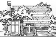 Dream House Plan - Ranch Exterior - Front Elevation Plan #320-322