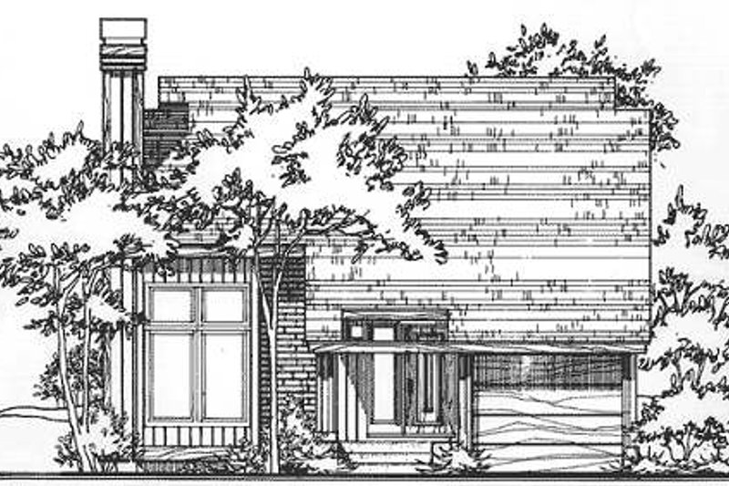 Ranch Style House Plan - 2 Beds 2 Baths 1289 Sq/Ft Plan #320-322