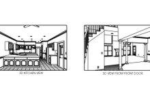 House Plan Design - European Photo Plan #56-204