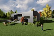 Modern Style House Plan - 2 Beds 2 Baths 1615 Sq/Ft Plan #549-24 Exterior - Front Elevation