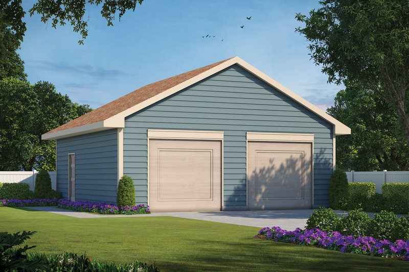 House Plan Design - Traditional Exterior - Front Elevation Plan #20-2450