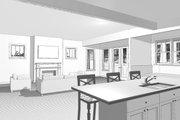 Craftsman Style House Plan - 6 Beds 5 Baths 4199 Sq/Ft Plan #461-40