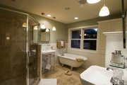 Craftsman Style House Plan - 4 Beds 3.5 Baths 2909 Sq/Ft Plan #56-597 Interior - Master Bathroom