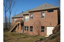 Dream House Plan - European Exterior - Rear Elevation Plan #437-22
