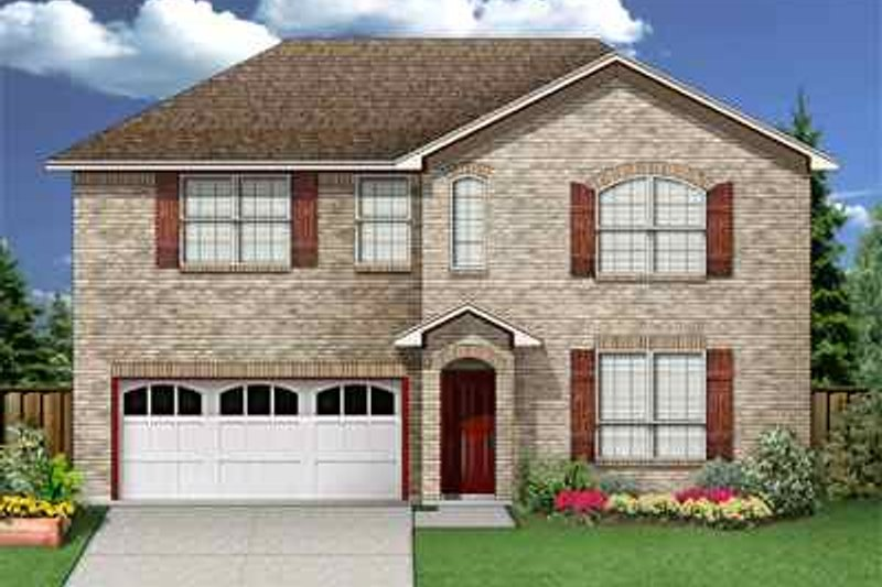 Traditional Exterior - Front Elevation Plan #84-116 - Houseplans.com