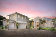 Cottage Style House Plan - 4 Beds 4 Baths 2925 Sq/Ft Plan #938-107 Exterior - Front Elevation