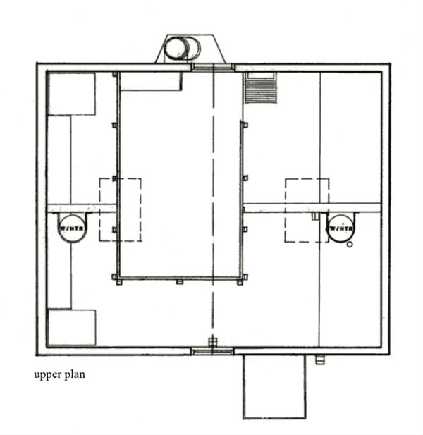 Cottage Floor Plan - Upper Floor Plan Plan #511-1