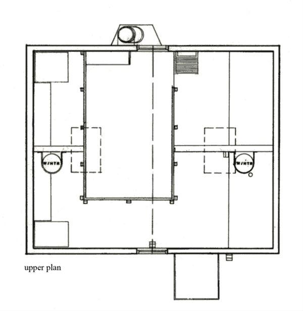 Cottage Floor Plan - Upper Floor Plan Plan #511-1