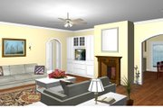Ranch Style House Plan - 3 Beds 2 Baths 1700 Sq/Ft Plan #44-104 Photo