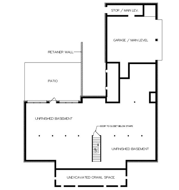 Southern Floor Plan - Other Floor Plan Plan #45-161