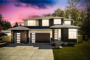 Contemporary Style House Plan - 4 Beds 2.5 Baths 3384 Sq/Ft Plan #1066-121 Exterior - Front Elevation