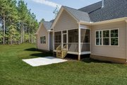 Craftsman Style House Plan - 3 Beds 2 Baths 1747 Sq/Ft Plan #929-1038 Exterior - Rear Elevation