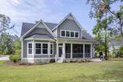 Craftsman Style House Plan - 3 Beds 2.5 Baths 2592 Sq/Ft Plan #929-833 Exterior - Rear Elevation