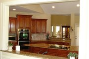 Southern Style House Plan - 3 Beds 3.5 Baths 2461 Sq/Ft Plan #56-241 Interior - Kitchen