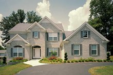Home Plan Design - Colonial Exterior - Front Elevation Plan #57-274