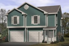 House Plan Design - Traditional Exterior - Front Elevation Plan #22-401