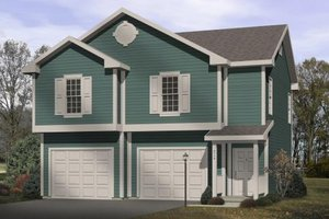 Traditional Exterior - Front Elevation Plan #22-401