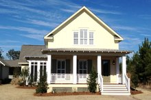 Home Plan Design - Farmhouse Exterior - Front Elevation Plan #430-76