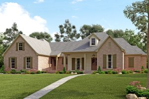 Traditional Exterior - Front Elevation Plan #430-127