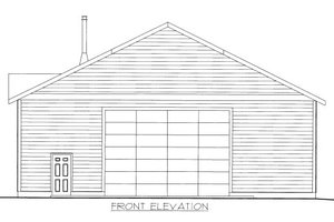 Traditional Exterior - Front Elevation Plan #117-657