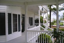 Dream House Plan - Victorian Exterior - Covered Porch Plan #137-249
