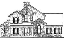 House Design - Traditional Exterior - Rear Elevation Plan #23-250