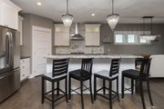 Ranch Style House Plan - 3 Beds 2 Baths 2005 Sq/Ft Plan #70-1485 Interior - Kitchen