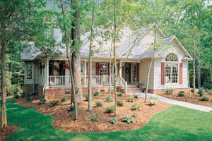 Dream House Plan - Country Exterior - Front Elevation Plan #929-242