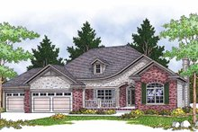 Dream House Plan - European Exterior - Front Elevation Plan #70-1375