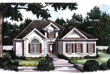 Home Plan - Mediterranean Exterior - Front Elevation Plan #927-62