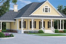 Traditional Exterior - Front Elevation Plan #45-569