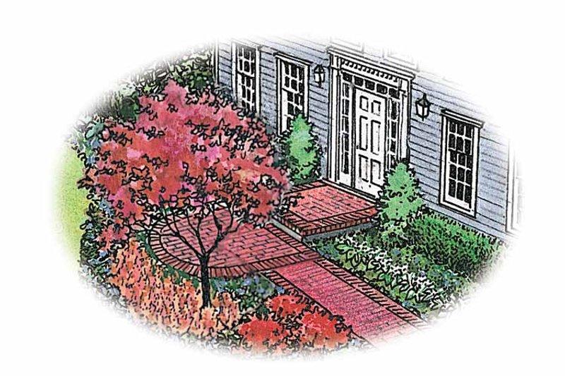 Classical Exterior - Front Elevation Plan #1040-5 - Houseplans.com