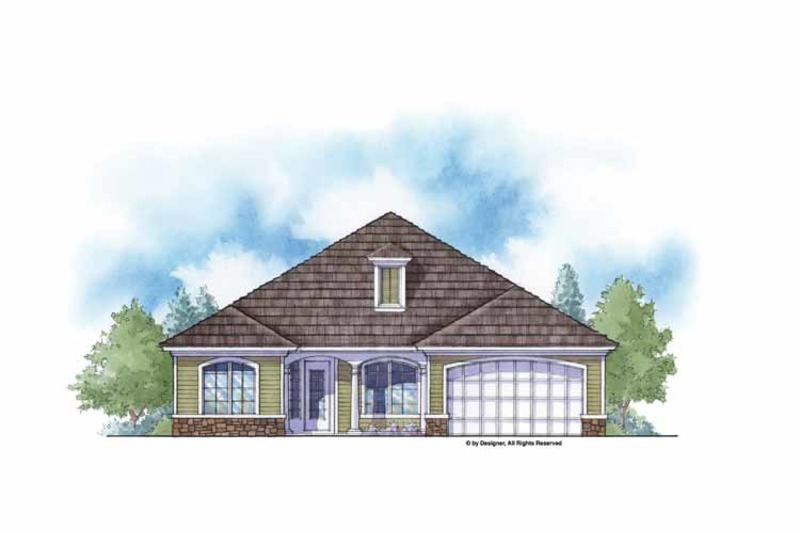 Country Exterior - Front Elevation Plan #938-11 - Houseplans.com