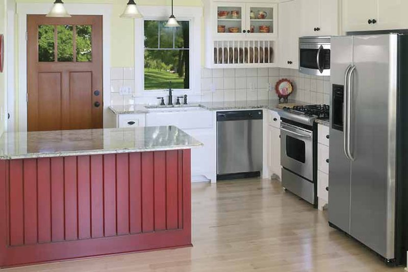 Craftsman Interior - Kitchen Plan #928-90 - Houseplans.com