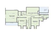 Colonial Floor Plan - Upper Floor Plan Plan #17-2068