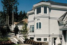 House Plan Design - Mediterranean Exterior - Rear Elevation Plan #47-875